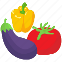 healthy food, natural food, oragni vegetable, raw vegetable, vegetables icon
