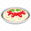 confectionery, cuisine, dessert, dish, jelly custard, sweet icon