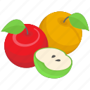 diet, fruits, garden fruits, healthy food, organic fruits icon