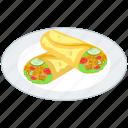 arabic cuisine, fast food, junk food, shawarma platter, vegetable shawarma icon