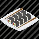 food, japanese cuisine, japanese food, meal, sushi icon