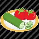 healthy food, natural food, organic vegetables, raw vegetables, vegetables icon
