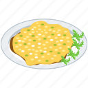 food, italian cuisine, italian dish, italian food, meal, risotto milanese icon