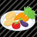 healthy food, natural food, organic, raw vegetable, salad, vegetable, vegetables icon