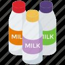 dairy product, milk bottle, milk container, milk flask, milk jar, preserved milk icon