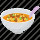 massaman curry bowl, red curry, thai cuisine, thai dish, thai food icon