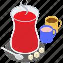 green tea, tea glass, traditional tea, turkish khawah, turkish tea icon