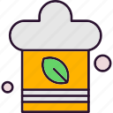 cooking, toque, cap icon