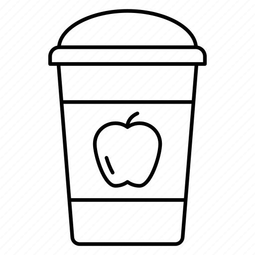 cocktail, glass, liquid, packaging icon