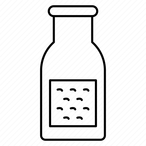 bottle, liquid, milk, soda icon