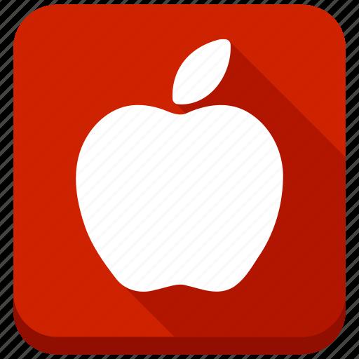 apple, diet, food, fruit, health, nature, vegetarian icon
