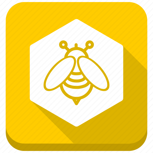 bee, health, hexagon, hive, honey, honeycomb, sweet icon