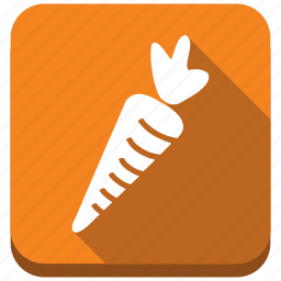carrot, dietary, fitness, health, nutrition, rabbit diet, vegetable icon