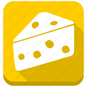 cake, cheese, eating, meal, nutrition, piece, slice icon