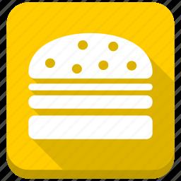 burger, cheeseburger, fastfood, hamburger, mcdonalds, meal, restaurant icon