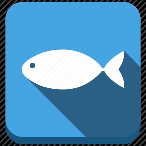 animals, diet, fish, fishing, ocean, sea food, seafood icon