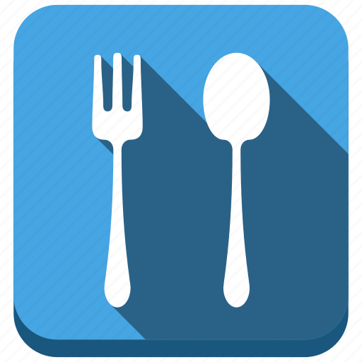 breakfast, eating, food, fork, restaurant, spoon icon