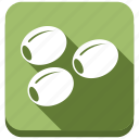 fruit, healthy, natural, olive, olives, vegetable, vegetarian icon