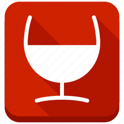alcohol, bar, beverage, party, red wine, restaurant, wineglass icon