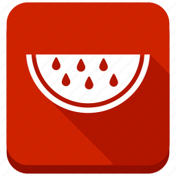 dessert, fruit, nutrition, piece, slice, water melon, watermelon icon