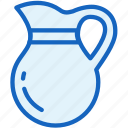 food, glass, juice, kitchen icon