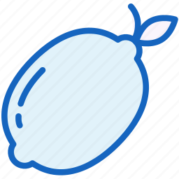 food, fruit, lemon icon