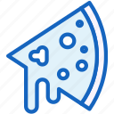 food, pizz, slice icon