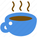 caffeine, coffee, coffee cup, hot, hot drink, mug, tea cup icon