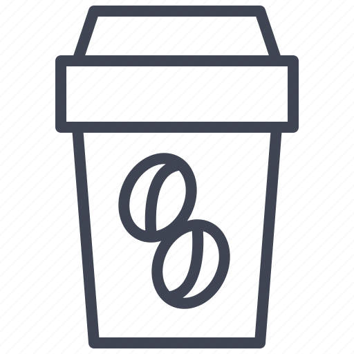 beverage, coffee, container, cup, drink, mug icon