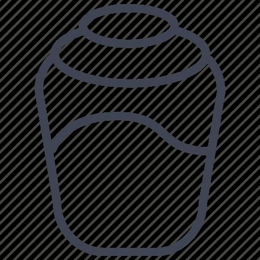 food, honey, jar, kitchen, restaurant icon