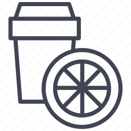 beverage, container, drink, glass, lemonade icon