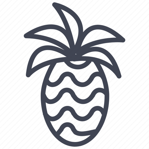 Pineapple, food, fruit, healthy, tropical icon - Download on Iconfinder
