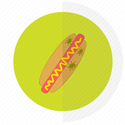 flat design, food, icon17, safety icon