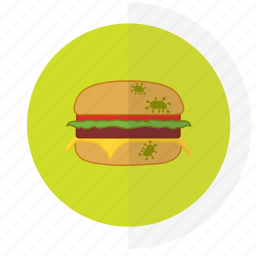 flat design, food, icon3, safety icon