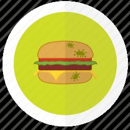 flat design, food, icon3, safety icon