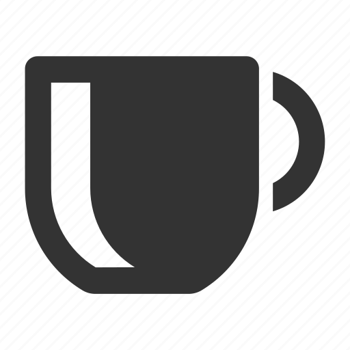 beverages, coffee, cup, food, hot, mug, solid icon
