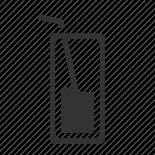 beverage, drink, food, fruit, juice, orange, solid icon
