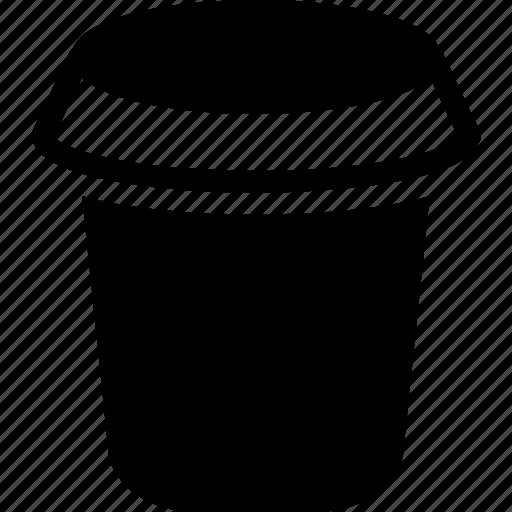 big open jar, food, food jar, jar, kitchen icon