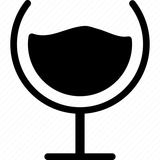 drink, glass, wine, wine glass icon