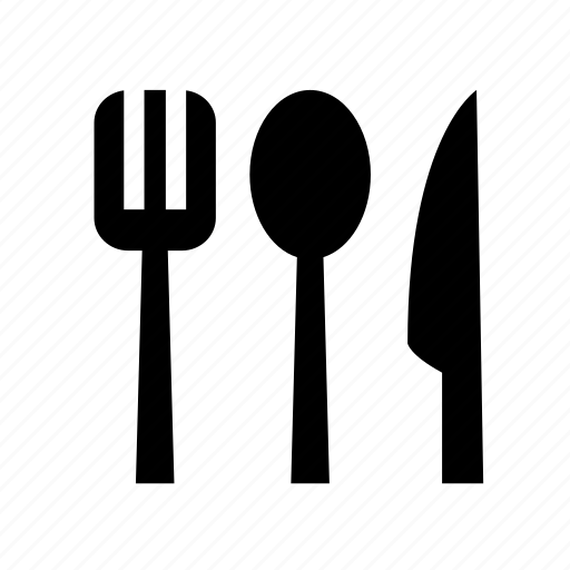 dinning, fork, knife, spoon icon