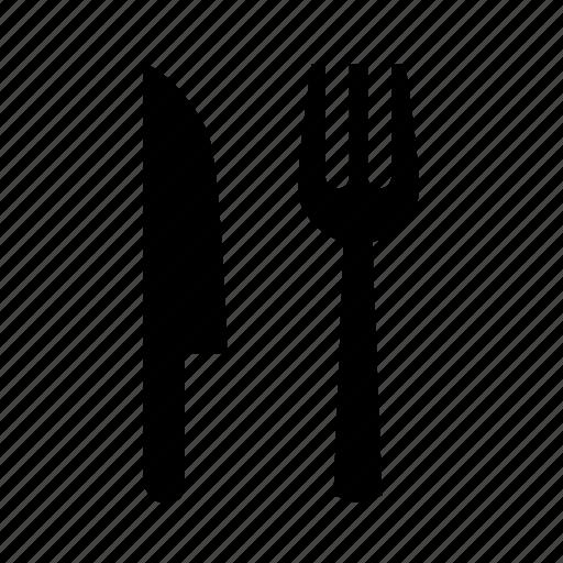 Fork, fork and knife, knife icon - Download on Iconfinder