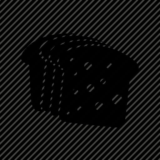 bread, bread slices, toasts icon