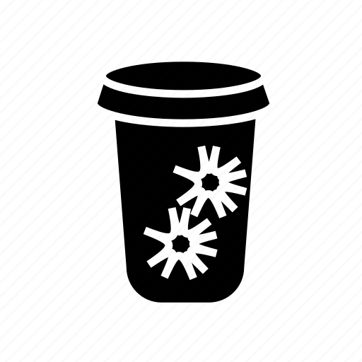 coffee, coffee cup, disposable coffee cup, disposable cup icon