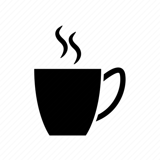 coffee, coffee cup, hot coffee cup, hot tea, tea, tea cup icon