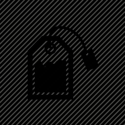 tea, tea bag icon