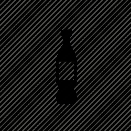 alcohol, bottle, drink, wine, wine bottle icon