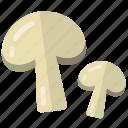 champignon, champiognes, champion, champion mushroom, ingredient, ingredients, mushroom, mushrooms, spices icon
