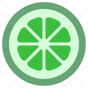 green lemon, ingredient, lime, sour, spice, spices icon