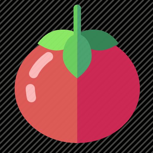 red, tomatoe icon