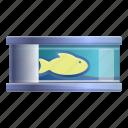 can, fish, ocean, food, tin icon